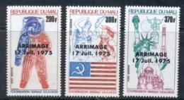 Mali 1975 Apollo-Soyuz Joint Russia/USA Space Project Opt Arrimage MUH - Mali (1959-...)