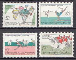 Liechtenstein MNH Set - Summer 1988: Seoul
