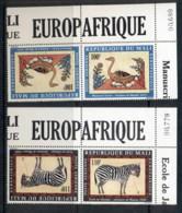 Mali 1978 Europafrica, Paintings Tete-beche Pr MUH - Mali (1959-...)