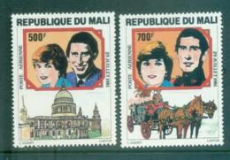 Mali 1981 Charles & Diana Royal Wedding MUH Lot81918 - Mali (1959-...)