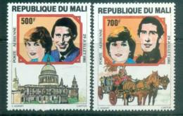 Mali 1981 Charles & Diana Royal Wedding MUH Lot81944 - Mali (1959-...)
