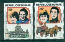 Mali 1981 Charles & Diana Wedding  MUH Lot45087 - Mali (1959-...)