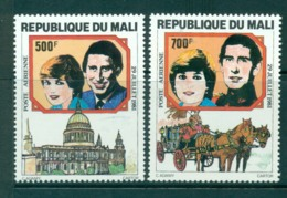 Mali 1981 Charles & Diana Wedding MUH Lot30418 - Mali (1959-...)