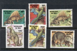 Mali 1984 Prehistoric Animals Dinosaurs CTO - Mali (1959-...)