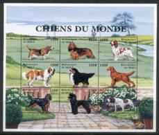 Mali 1997 Dogs Of The World 150f Sheetlet MUH - Mali (1959-...)