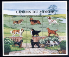 Mali 1997 Dogs Of The World MS MUH - Mali (1959-...)