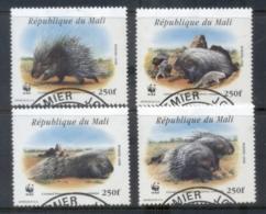 Mali 1998 WWF Crested Porcupine FU - Mali (1959-...)