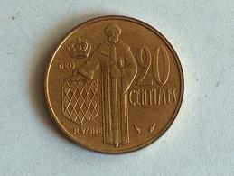 Monaco 20 Centimes 1982 - Monaco