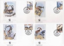 Ethiopia 1990 WWF Walia Ibex FDC - Ethiopie