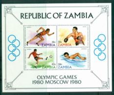 Zambia 1980 Summer Olympics, Moscow MS MUH - Venda
