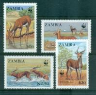 Zambia 1987 WWF Black Lechwe MUH Lot64118 - Venda