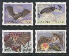 Zambia 1989 Bats MUH - Zambia (1965-...)