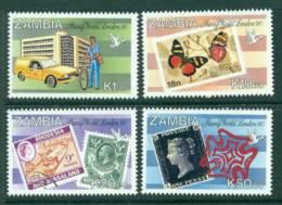 Zambia 1990 Stamp World London MUH Lot26955 - Zambia (1965-...)
