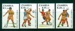 Zambia 1990 World Cup Soccer MUH Lot26947 - Zambia (1965-...)