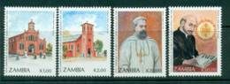 Zambia 1991 Jesuit Churches MUH Lot26954 - Zambia (1965-...)