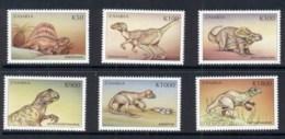 Zambia 1999 Prehistoric Animals, Dinosaurs MUH - Zambia (1965-...)