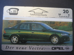 """TK Österreich- F-Serie Ungebraucht """"Opel Vectra"""" - Austria"""