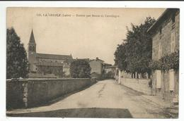 LA GRESLE (42) Entrée Par Route De Cevelinges - Francia