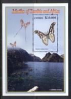 Zambia 2005 Insects Of Zambia & Africa, Moths MS MUH - Zambia (1965-...)