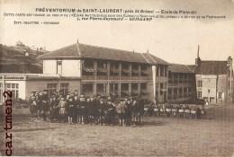 SAINT-LAURENT ST-BRIEUC TRESTEL SANATORIUM MARIN TREGUIER OEUVRE ANTITUBERCULEUSE DES COTES-DU-NORD GUINGAMP DELATTRE - France