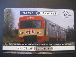 """TK Österreich- F-Serie Ungebraucht """"Mobil Zentral"""" - Austria"""