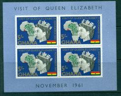 Ghana 1961 Royal Visit QEII MS MLH Lot27588 - Ghana (1957-...)