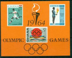 Ghana 1964 Olympic Games MS MUH Lot27610 - Ghana (1957-...)