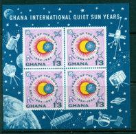 Ghana 1964 Quiet Sun Year MS MUH Lot27608 - Ghana (1957-...)