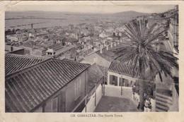 GIBRALTAR. CPA. RARETÉ. THE NORTH TOWN. ANNÉE 1933 - Gibraltar
