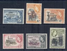 Ghana 1967 QEII Pictorials Asst, Opt. MLH - Ghana (1957-...)