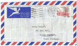 AI08    South Africa 1984 Commercial Cover To West Germany - Storia Postale