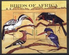 Ghana 2007 Birds Of Africa MS MUH - Ghana (1957-...)