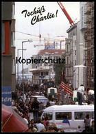 ÄLTERE POSTKARTE BERLIN TSCHÜSS CHECKPOINT CHARLIE BERLINER MAUER LE MUR THE WALL American Flag Ansichtskarte AK - Berliner Mauer
