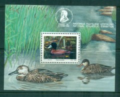 Transkei 1992 Water Birds, Duck MS MUH - Transkei