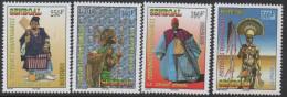 Sénégal 2003 Costumes Traditionnels Trachten Tradition 4 Val. RARE MNH - Senegal (1960-...)