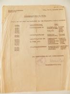 Militaria  - Armentières (59) - 1942 - Document En Allemand - Cachet De La Standortkommandantur D'Armentières - Documents