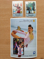 Tanzania 1994 IOC Olympic Commitee Games Jeux Olympiques Olympia Carl Lewis Otto 2 Stamps + 1 Souvenir Sheet MNH** - Tanzanie (1964-...)