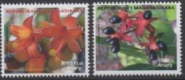 Madagascar Madagaskar 2014 / 2015 Mi. 2683/2684 Fleurs Flowers Blüten Hildegardia Ouratea Flore Flora MNH ** - Madagascar (1960-...)