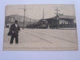 Collection De La Cie De Tramway De Bonsecours - Le Kiosque Du Pont Corneille à Rouen Et La Côte Ste Catherine - Bonsecours