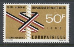 Upper Volta 1968 Europafrica MUH - Upper Volta (1958-1984)