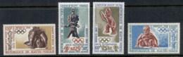 Upper Volta 1968 Summer Olympics, Mexico City MUH - Upper Volta (1958-1984)