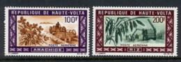 Upper Volta 1969 Agriculture, Peanuts & Rice MUH - Upper Volta (1958-1984)