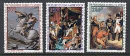 Upper Volta 1969 Paintings, Napoleon Bonaparte MUH - Upper Volta (1958-1984)