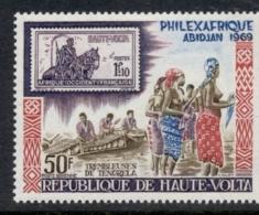 Upper Volta 1969 Philexafrique MUH - Upper Volta (1958-1984)