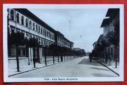 PISA  VIALE REGINA MARGHERITA  Ed. GIOVANNINI AZELIA PONTE ALLA FORTEZZA   1931 - Pisa