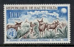 Upper Volta 1969 World Meterological Day MUH - Upper Volta (1958-1984)