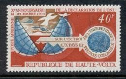 Upper Volta 1970 Colonial Peoples Independence MUH - Upper Volta (1958-1984)