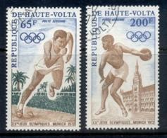 Upper Volta 1972 Summer Olympcs Munich CTO - Upper Volta (1958-1984)