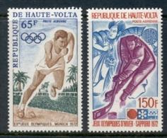 Upper Volta 1972 Summer Olympics, Munich MUH - Upper Volta (1958-1984)