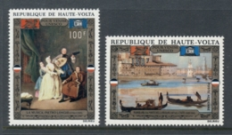 Upper Volta 1972 UNESCO Canpaign To Save Venice, Paintings MUH - Upper Volta (1958-1984)
